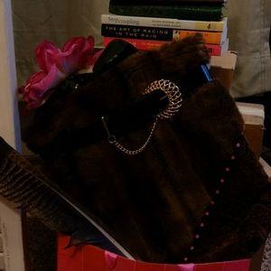 Fur fashion purse